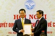 Ông Nguyễn Mạnh Hùng nhận quyết định quyền Bộ trưởng Bộ Thông tin và Truyền thông