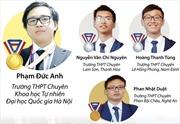 Bốn thí sinh Việt Nam đều giành huy chương Olympic Hóa học quốc tế 2018
