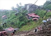 Sạt lở đất tại Lai Châu khiến 6 người chết, 4 người mất tích