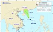 Áp thấp trên biển Đông giật cấp 8, di chuyển về hướng đảo Hải Nam (Trung Quốc)