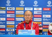 Asian Cup 2019: HLV Park Hang-seo có phương án để hướng tới kết quả có lợi trước Iraq