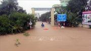 Nhiều khu dân cư ở Phú Yên bị ngập lụt, cô lập do xả lũ, mưa lớn kéo dài