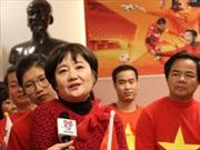 Bóng đá Việt Nam cảm ơn vợ HLV Park Hang-seo