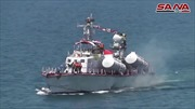 Hải quân Syria rầm rộ diễu binh trên Địa Trung Hải mặc hạm đội Mỹ 'đứng nhìn'