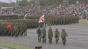 Lực lượng Phòng vệ Nhật Bản rầm rập duyệt binh, Thủ tướng Abe cam kết sửa Điều 9 Hiến pháp