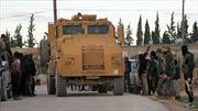 Mỹ chưa rút quân, xe bọc thép Thổ Nhĩ Kỳ đã rầm rập kéo vào Syria