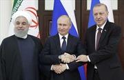 Thượng đỉnh Nga-Thổ Nhĩ Kỳ-Iran: Ra Tuyên bố chung tôn trọng chủ quyền Syria