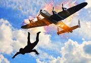 Phi công rơi 5.500m không dù sống sót kỳ diệu