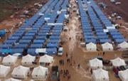 Trại tị nạn mới dựng cho thường dân tháo chạy từ Idlib nương náu