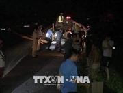Bắt hai người Trung Quốc cướp ô tô, chống người thi hành công vụ