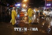 Áp thấp nhiệt đới gây mưa ngập hàng chục tuyến phố Thủ đô