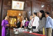 Đồng chí Trần Thanh Mẫn thăm và làm việc tại tỉnh An Giang