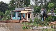An Giang di dời khẩn cấp các hộ dân bị ảnh hưởng sạt lở đất đến nơi an toàn