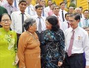 Phó Chủ tịch nước Đặng Thị Ngọc Thịnh tiếp Đoàn đại biểu người có công tỉnh Trà Vinh