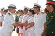 Đoàn sỹ quan, thủy thủ tàu Hải quân Hoàng gia New Zealand thăm hữu nghị Việt Nam