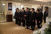 Đại sứ quán Việt Nam tại Nhật Bản tổ chức lễ viếng Chủ tịch nước Trần Đại Quang