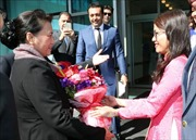 Chủ tịch Quốc hội Nguyễn Thị Kim Ngân tham dự Hội nghị Chủ tịch Quốc hội các nước Á Âu