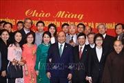 Thủ tướng Nguyễn Xuân Phúc thăm Đại sứ quán và gặp gỡ cộng đồng Việt Nam tại Nhật Bản
