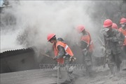 Núi lửa Fuego ở Guatemala phun trào trở lại