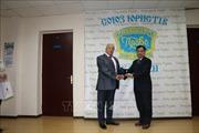 Đại sứ Việt Nam tại Ukraine được trao tặng Huy chương Nhà nước pháp quyền và công lý