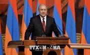 Tổng thống Armenia ký sắc lệnh giải tán Quốc hội