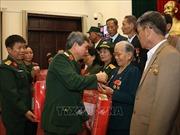 Bộ Quốc phòng gặp mặt Đoàn đại biểu người có công với cách mạng tỉnh Quảng Trị