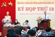 Kỳ họp thứ 12, HĐND tỉnh Quảng Ngãi: 'Nóng' vấn đề môi trường, quy hoạch nghĩa trang