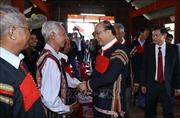 Thủ tướng chúc Tết, tặng quà đối tượng chính sách, hộ dân tộc thiểu số tại Đắk Nông
