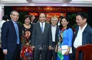 Thủ tướng Nguyễn Xuân Phúc chúc Tết lãnh đạo, nguyên lãnh đạo khu vực miền Trung