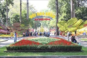 Hội hoa Xuân Kỷ Hợi tại TP Hồ Chí Minh mở cửa từ ngày 31/1 đến 10/2