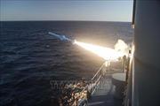 Iran phóng thử thành công tên lửa hành trình từ tàu ngầm