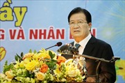 Phó Thủ tướng Chính phủ Trịnh Đình Dũng thăm, chúc Tết tại tỉnh Vĩnh Phúc