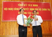 Bộ Chính trị chỉ định ông Phạm Viết Thanh làm Bí thư Tỉnh ủy tỉnh Tây Ninh