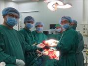 Cắt khối u lách nặng gần 3kg cho bệnh nhân 57 tuổi