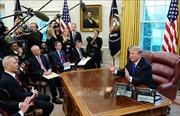 Tổng thống Mỹ lạc quan về đàm phán thương mại với Trung Quốc
