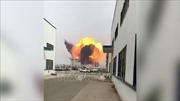 Nổ nhà máy hóa chất ở Trung Quốc, ít nhất 12 người bị thương và nhiều công nhân mắc kẹt