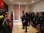 Lễ viếng, mở sổ tang nguyên Chủ tịch nước Lê Đức Anh tại Anh và Pháp