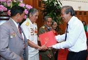 Phó Thủ tướng tiếp đoàn đại biểu người có công với cách mạng tỉnh Kon Tum