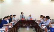 Đoàn Tiểu ban văn kiện làm việc với Đảng đoàn Liên hiệp các Hội Khoa học và Kỹ thuật Việt Nam
