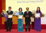 Trao Huân chương của Chủ tịch nước CHDCND Lào tặng các tập thể, cá nhân tỉnh Quảng Ninh
