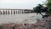 Kiên Giang công bố tình trạng sạt lở đê biển nghiêm trọng