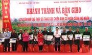 Khánh thành, bàn giao 276 nhà Chữ thập đỏ cho cựu chiến binh Hà Giang