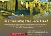 Động Thiên Đường tráng lệ nhất châu Á