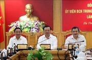 Bộ trưởng Đinh Tiến Dũng: Hà Tĩnh cần cơ cấu nguồn thu phù hợp