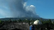 Núi lửa ở thành phố đông dân thứ 3 Indonesia 'thức giấc'