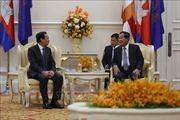 Đoàn đại biểu cấp cao Văn phòng Trung ương Đảng ta thăm và làm việc tại Campuchia