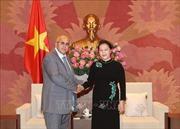 Chủ tịch Quốc hội Nguyễn Thị Kim Ngân tiếp Chủ tịch Ủy ban Bảo vệ Cách mạng Cuba