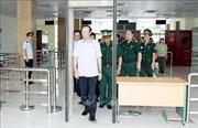 Lạng Sơn kiểm tra tình hình xuất, nhập khẩu tại cửa khẩu Chi Ma