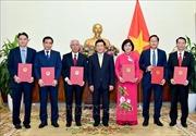 Trao Quyết định bổ nhiệm 6 Đại sứ nhiệm kỳ 2019 – 2022