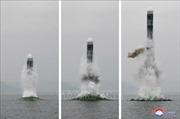 Nhật Bản sẵn sàng chia sẻ cho Hàn Quốc thông tin vụ phóng tên lửa của Triều Tiên